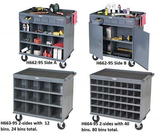 MOBILE CART WORKSTATIONS