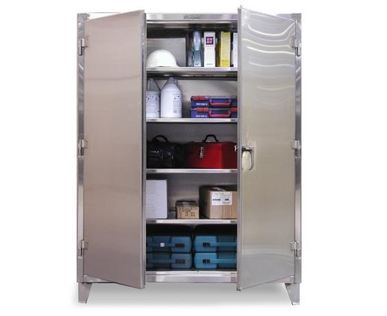 STAINLESS STEEL INDUSTRIAL STORAGE CABINETS
