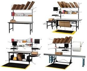 DEHNCO WORKSTATION ACCESSORIES