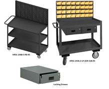 SHELF CARTS/WORKSTATIONS WITH PANELS